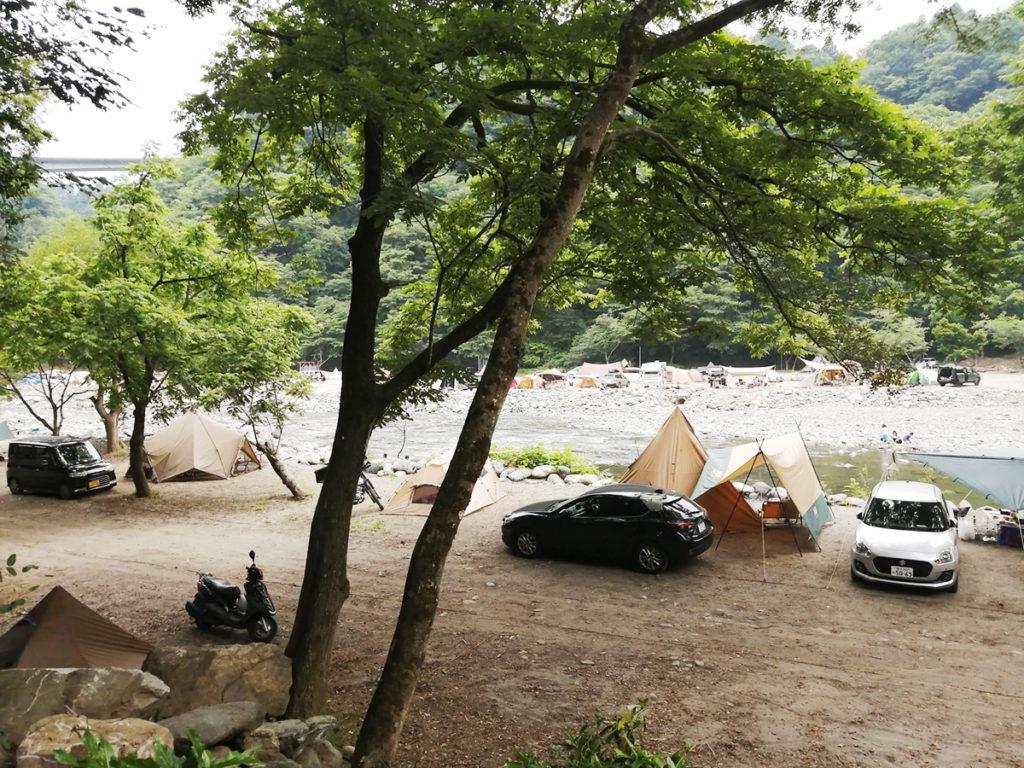 新戸キャンプ場