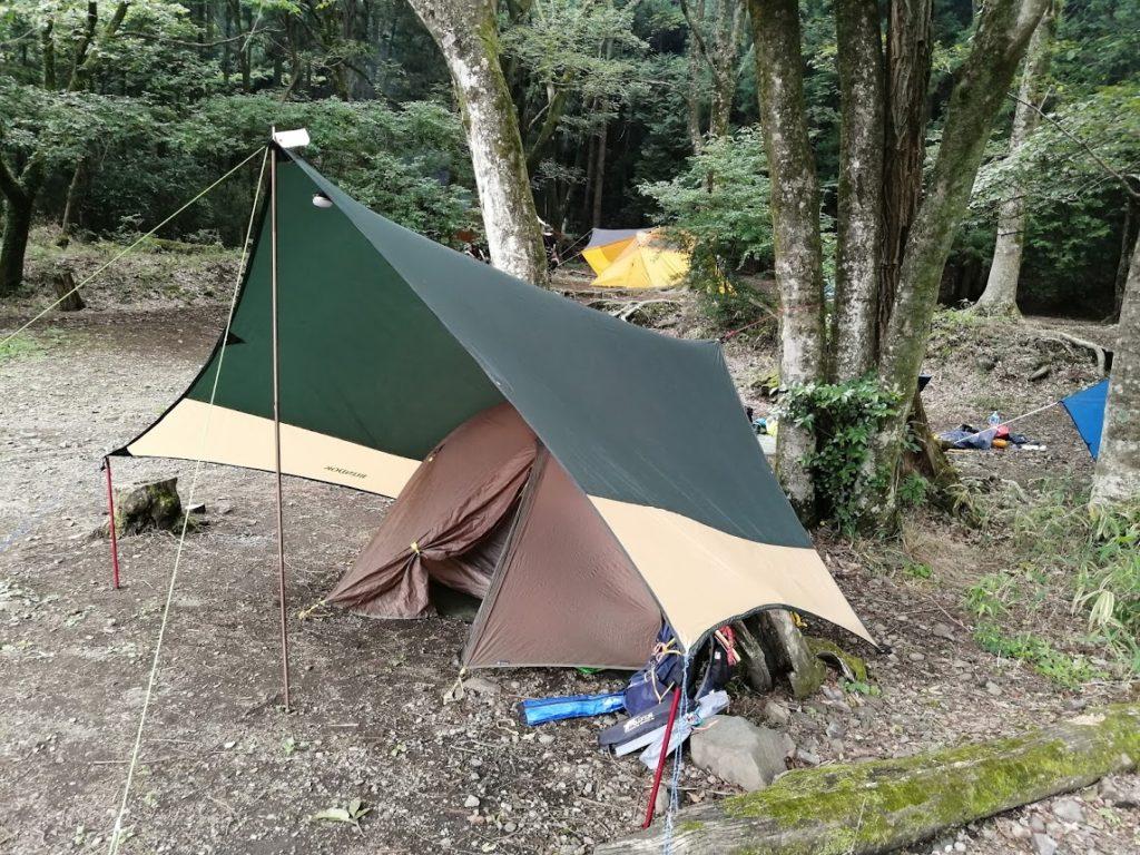 滝沢園キャンプ場